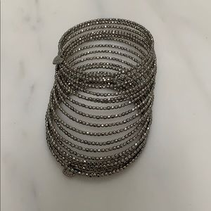 Stacking Stella and dot silver bracelet